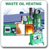 Waste Oil Heater
