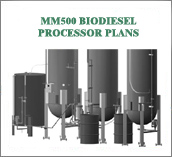 MM500 BioDiesel Processor Plans